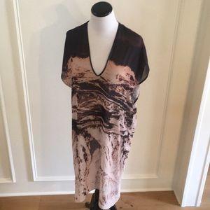 IAN R.N. Sheer causal dress